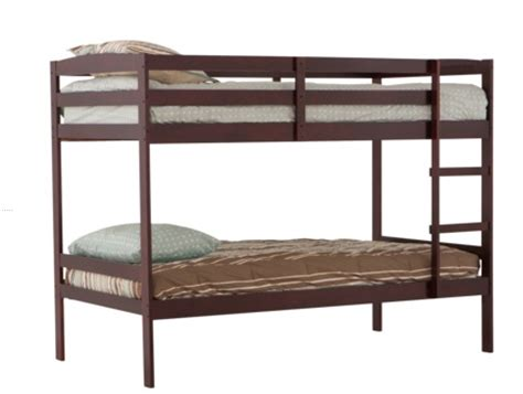 Target Bunk Beds by Get A Wooden Bunk Bed In Cherry From Target For