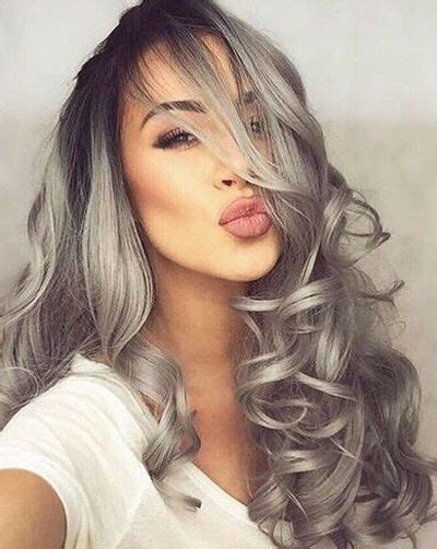 A Millennials Guide To Gray Hair Dye Hairstyles