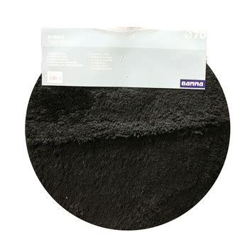 wc mat gamma gamma gamma badmat rond zwart 70 cm kopen
