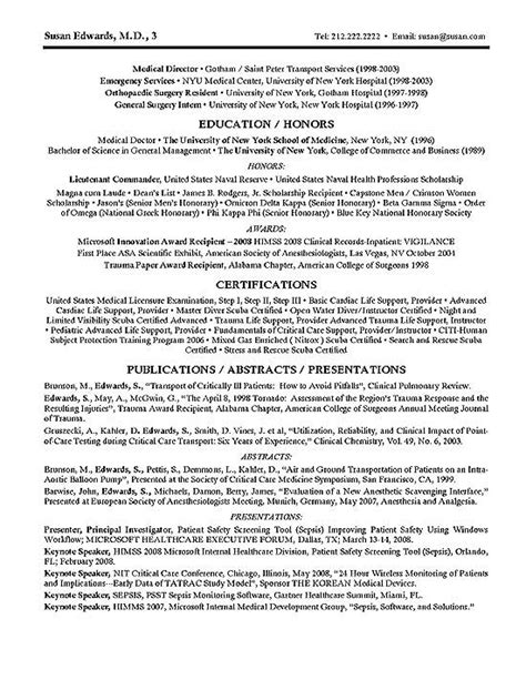 Clinical Resume Exles by Clinical Research Resume Exle