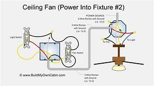 Wiring Diagram For Ceiling Fan With Light Switch  With