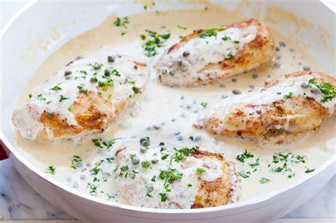 chicken breast recipes chicken breasts with mustard cream sauce recipe simplyrecipes com