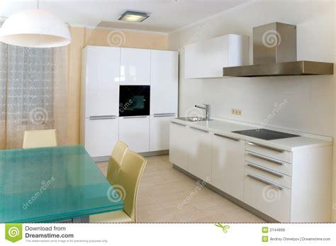 element de cuisine moderne cuisine moderne avec des meubles images libres de droits