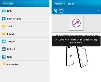 nfc tag beschreiben blackberry 10 tipp mit der app quot smart tags quot einen nfc tag digital beschreiben a1blog
