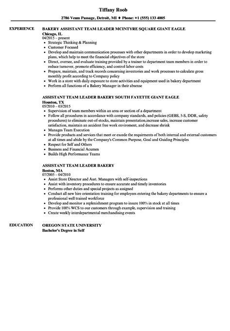 Assistant Resume by Bakery Assistant Resume Bijeefopijburg Nl