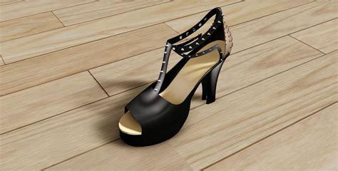 spike heels   model  printable dm cgtradercom