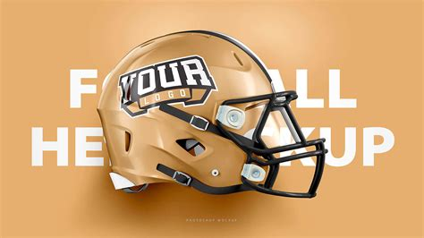 football helmet design template riddell 360 helmet 3 views mockup sports templates