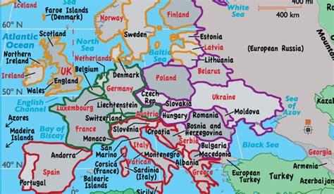 europe countries  regions worldatlas