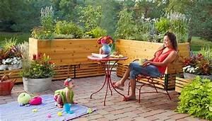 Hochbeet Für Balkon Selber Bauen : sichtschutz aus hochbeete und begr nung f r terrasse oder balkon dachterasse pinterest ~ Eleganceandgraceweddings.com Haus und Dekorationen
