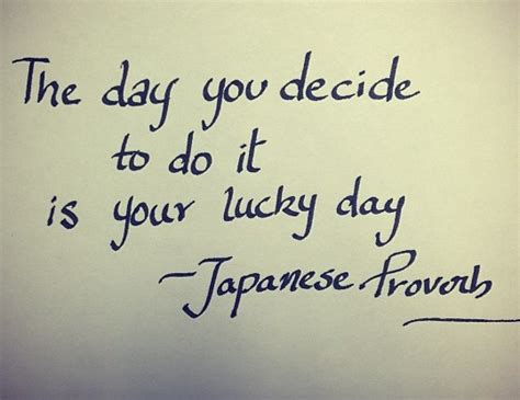 day  decide      lucky day japanese