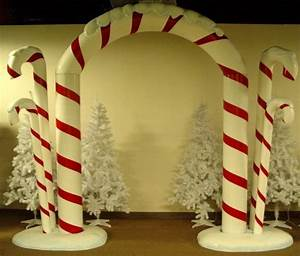 17 Best ideas about Candy Cane Decorations on Pinterest