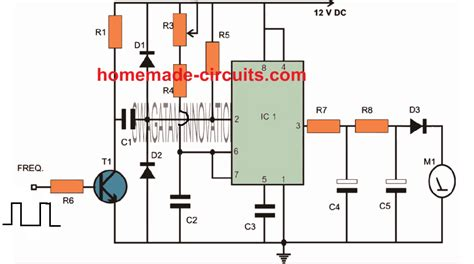 Simple Tachometer Using Homemade Circuit Projects