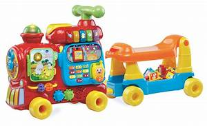 hop aboard the sit to stand ultimate alphabet train by With letter train toy