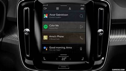 Volvo Recharge Xc40 Console Central 1600 1200