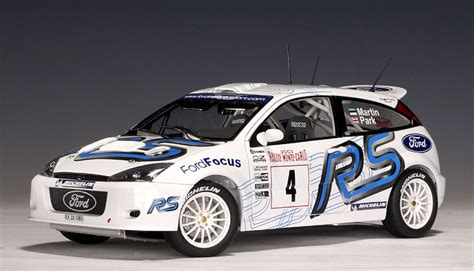 2003 Ford Focus Rs Wrc Martin / Park #4 (80311