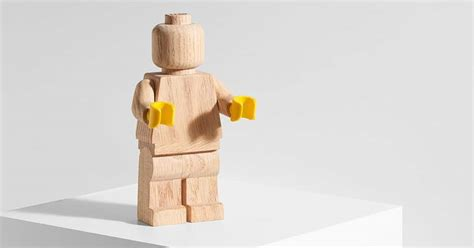 lego announces limited edition minifigure  retro wooden
