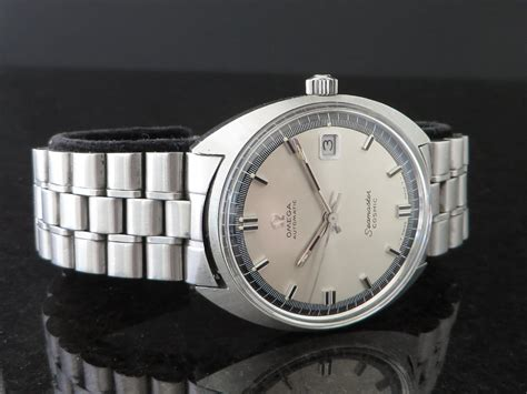 Sold  1968 Seamaster Cosmic Fancy Twotone Dial On