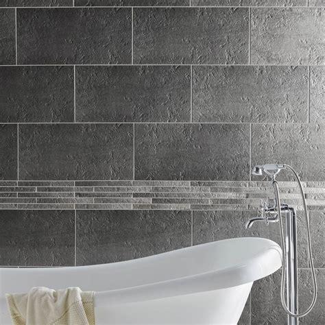 modele carrelage cuisine mural carrelage sol et mur gris vestige l 30 x l 60 cm leroy