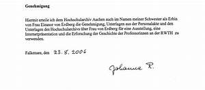 Einverständniserklärung Personalakte : frauen und wissenschaft ~ Themetempest.com Abrechnung
