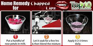 10 Natural Ways To Get Rid Of Chapped Lips Top 10 Home