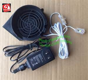 gemmy replacement 1 0a fan with 12v 1 0a adapter