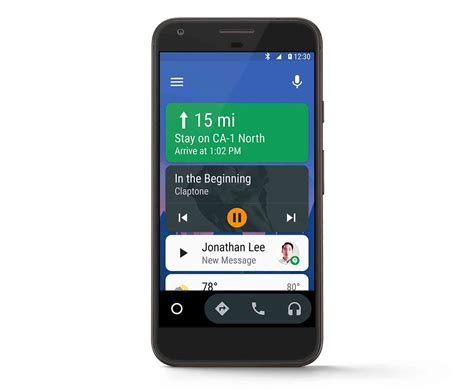 new android update android auto update will give you the in car experience