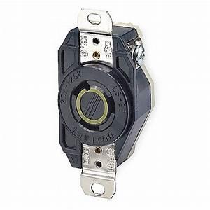 Leviton Recept U00e1culo Negro  20 Amperes  125vca Voltaje