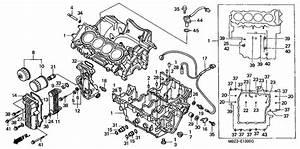Crankcase For 2000 Honda Cb600f