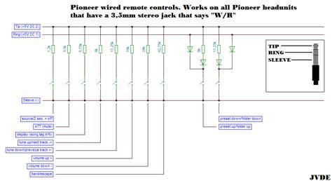 Wiring Diagram Pioneer Deh 65bt by Autoradio Arduino Wired Remote