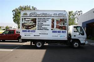 box truck wrap graphics from master graphics inc With truck lettering near me