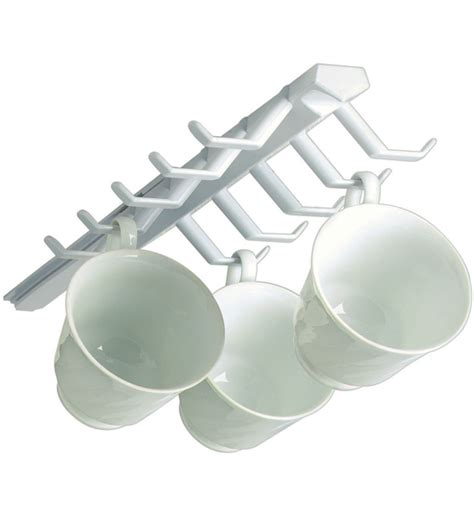 mounted sliding cup storage rack   shelf storage racks