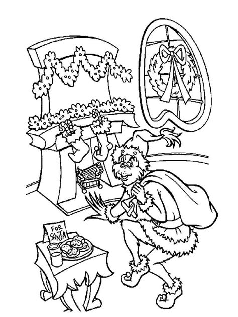 The Grinch Coloring Page The Grinch Coloring Pages Free Printable The Grinch