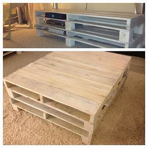 white washed recycled pallets for beach themed living With beach inspired coffee table