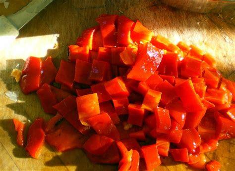 cuisiner les poivrons rouges tiramisu aillé aux poivrons rouges cuisiner avec ses 5