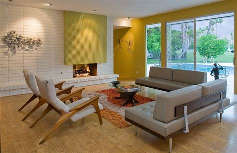 Charming Mid Century Modern Living Room Design 95 With