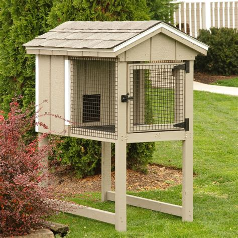 outdoor awesome design  rabbit hutches  outdoor pet