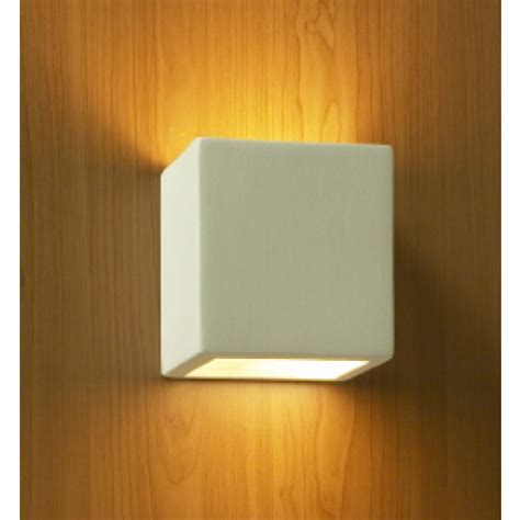 5 quot square geometric wall sconce contemporary