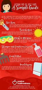 Getting Rid Of Split Ends  A Simple Guide  U2013 Infographic