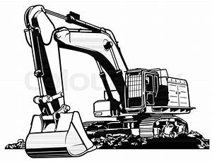 Excavator Drawing At Getdrawings
