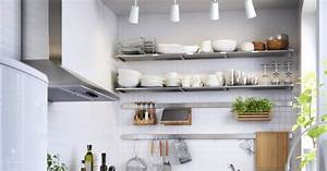 Table Murale Cuisine : astuces gain de place petite cuisine marie claire ~ Teatrodelosmanantiales.com Idées de Décoration