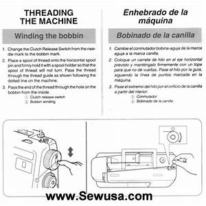 Brother Xl 3010 And Xl 3022 Sewing Machine Threading