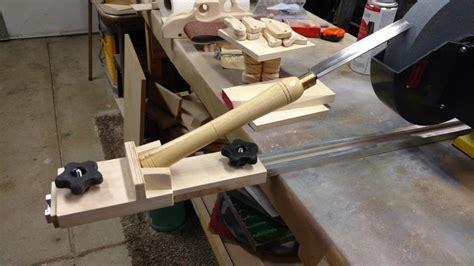 homemade lathe tool sharpening jig  dansnow