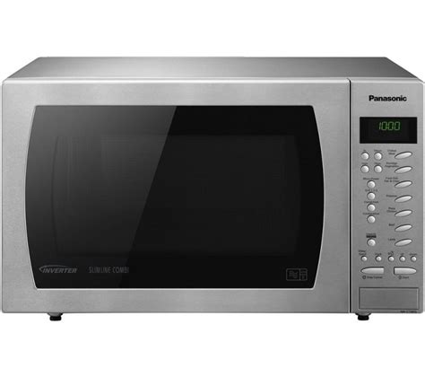 How do i adjust my old reliable recipes to the t… read more. Panasonic 27 Litre 1000W Slimline Button Combination Microwave Stainless Steel - Ebuyer