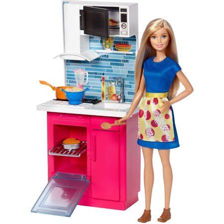 Barbie Doll & Kitchen Furniture  Walmartcom