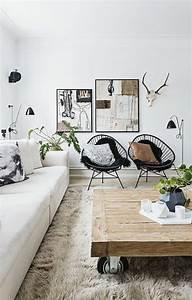 1001 idees pour amenager une chambre en longueur des for Tapis design avec canape longueur 280