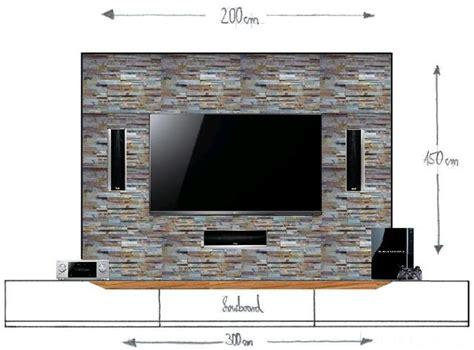 Tv In Wand Versenken by Tv Wandverkleidung