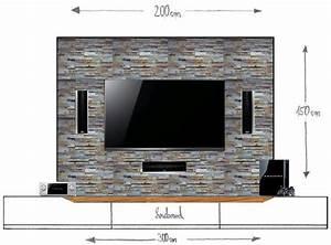 Fernseher An Die Wand : vorbauwand f r tv center frontspeaker material tipps racks geh use hifi forum ~ Bigdaddyawards.com Haus und Dekorationen