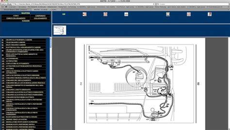 Renault Scenic Electric Window Wiring Diagram by Renault Master 2008 Gt Schemi Elettrici Wiring Diagrams Ebay