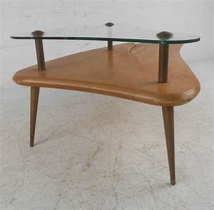 mid century two tier coffee table for sale at 1stdibs With mid century two tier coffee table