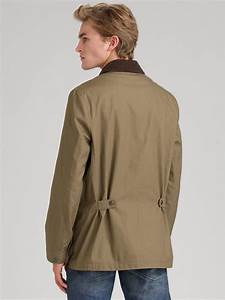 burberry canvas barn jacket in green for men lyst With burberry barn jacket